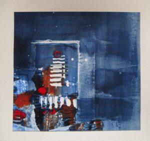 Monotype - Christine Orihuela - artiste peintre - Bien-être et Créativité - Saint-Leu-La-Forêt