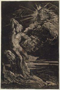 Monotype Giovani Benedetto Castiglione