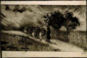Monotype Camille Pissaro