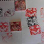 Ateliers gravure sur plaque souple - Bien-être et Créativité - Saint Leu La Forêt