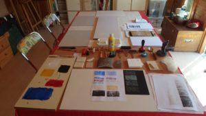 Atelier gravure - Bien-être et Créativité - Saint Leu la Forêt