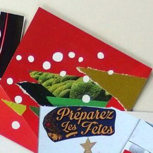 Bien-être et Créativité - stage collage Noël