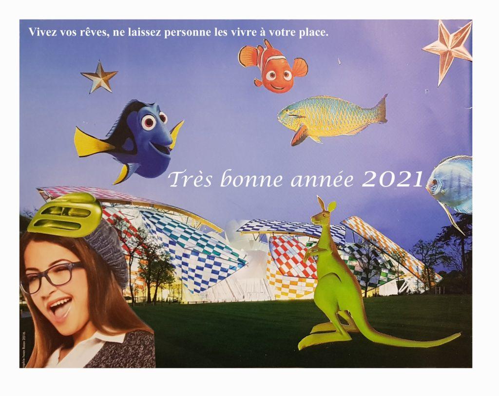 Bien-être et Créativité vous souhaite une bonne année 2021